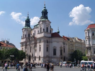 St. Nicholas Church (Kostel sv. Mikuláse) in the Old Town Square