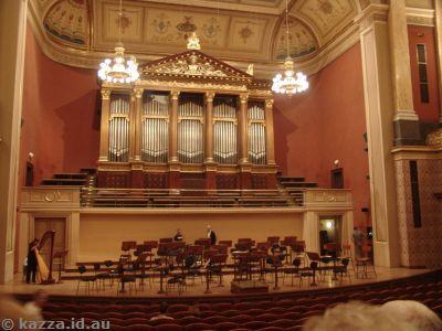 Prague Rudolfinum interior