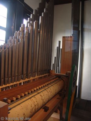 Mechanical organ in the fortress