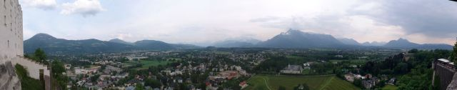 Austrian Alps from the Salzburg fortress