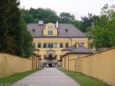Schloss Hellbrunn from a distance