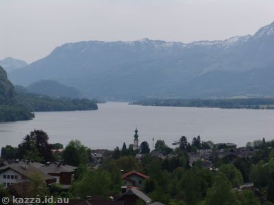 St Gilgen and Wolfgangsee