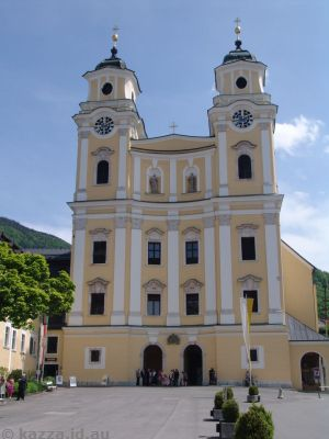Collegiate Church at Mondsee