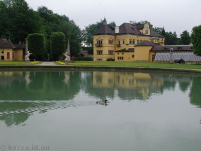 Pond at Schloss Hellbrunn