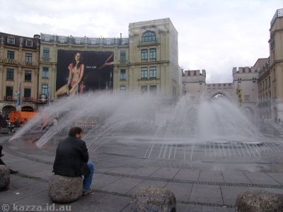 Fountain in Karlsplatz
