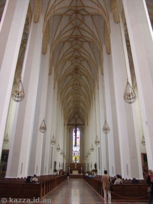 Interior of the Frauenkirche