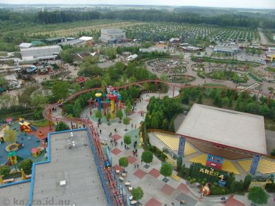 Looking over Legoland