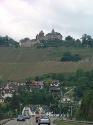Schloss Eberstein from Obertsrot