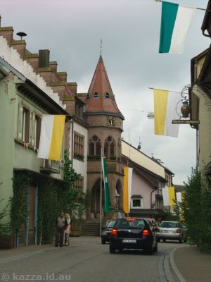 Small street in Elzach