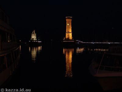 The harbour by night