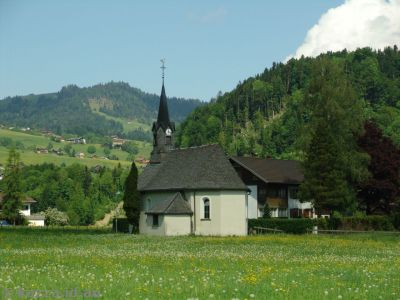 Little church in Bersbuch