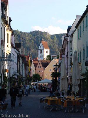 Street in Füssen