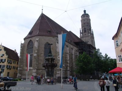 Saint Georg's Church in the centre of town