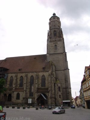 Saint Georg's Church and Daniel