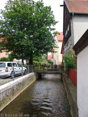 Another view of the Eger stream