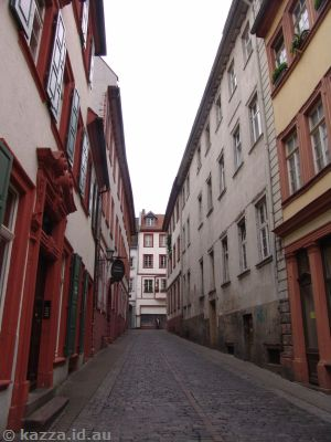 Alley in Heidelberg