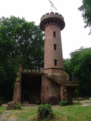 Lookout tower on Heiligenberg