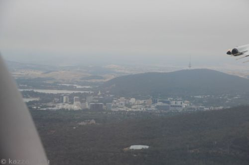 A grey morning in Canberra