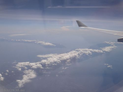 I loved these clouds over Indonesia