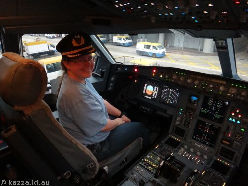 Me in the pilot's seat :)