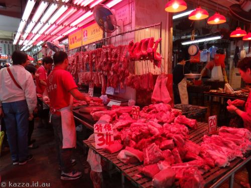 Wet markets - fresh meat