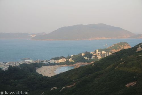 Shek O from the bus
