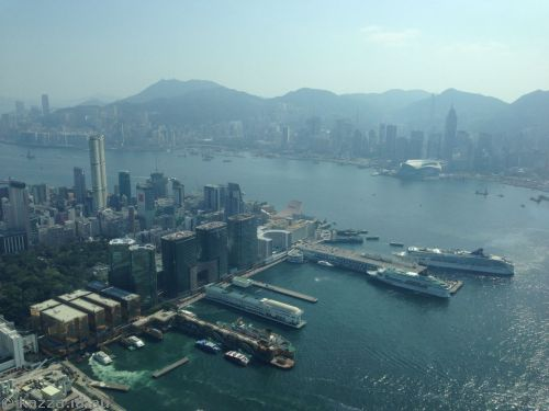 Hong Kong from Sky 100