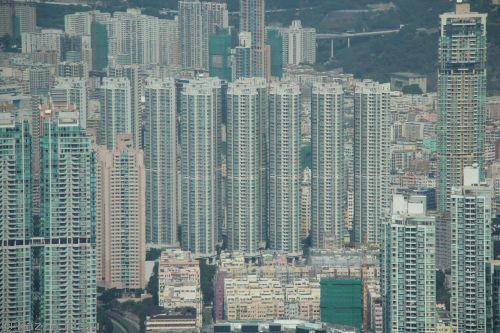 Crazy Hong Kong apartment buildings