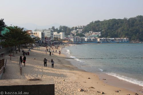 Beach in Cheung Chau