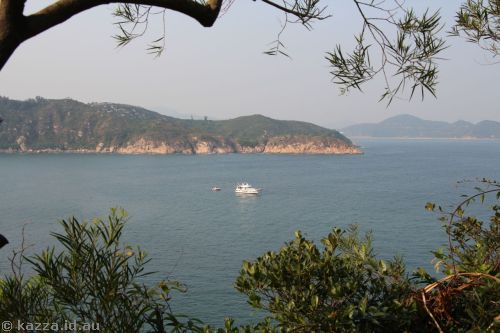 Headland north-east of Cheung Chau