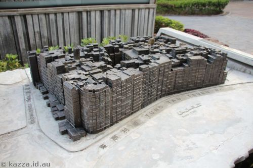Model of Kowloon Walled City Park