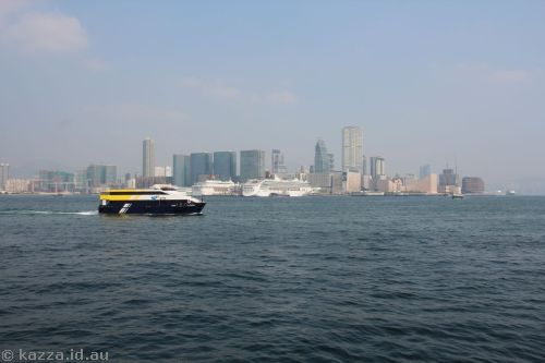 Hong Kong from the ferry terminals
