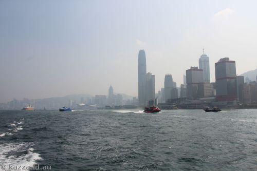 Hong Kong from the ferry