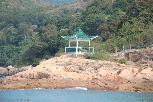 Pagoda on Lamma Island