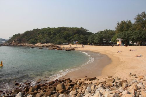 Hung Shing Ye beach - looks lovely doesn't it?