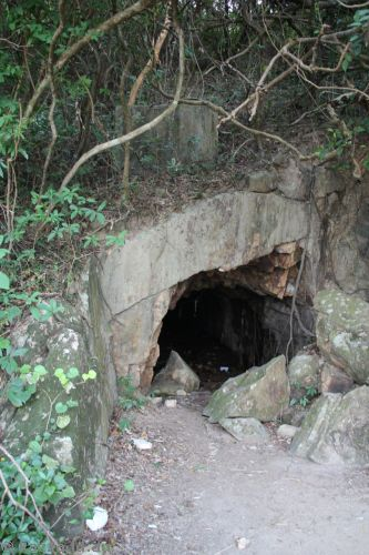 Kamikaze Cave - used by Japanese during the war