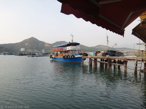 Harbour at Sok Kwu Wan
