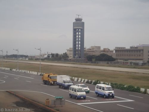 Air traffic control tower at Taipei airport