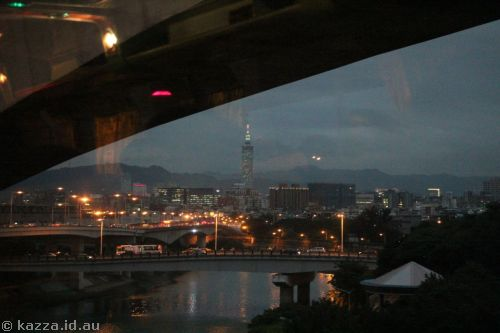 First view of Taipei 101