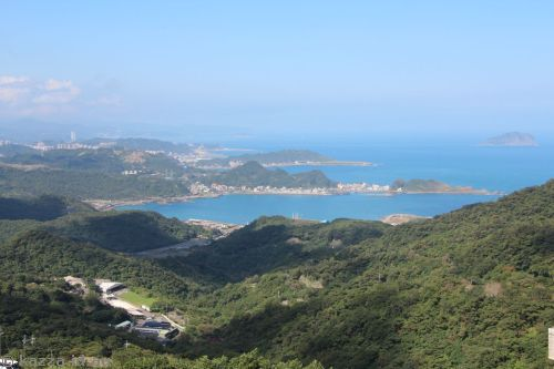 North coast of Taiwan from Jiufen