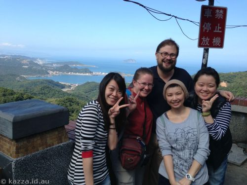 The group at Jiufen