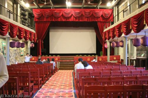 Restored ShengPing Theatre interior