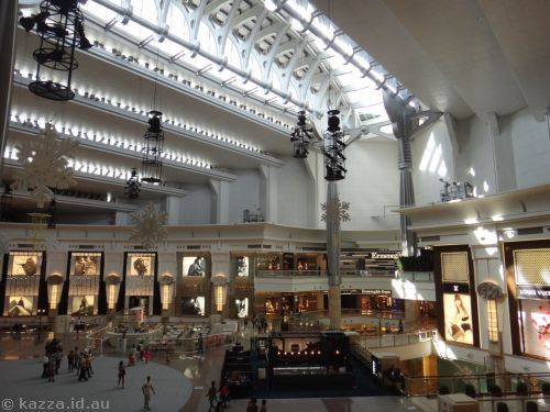 Boring shopping mall under Taipei 101