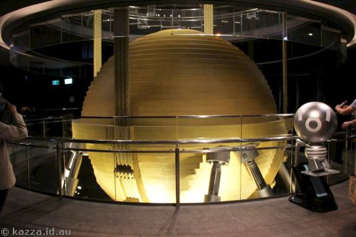 Taipei 101 Damper Ball and the 'Smart Silver' Damper Baby