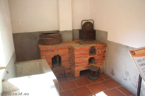Chinese kitchen in the fort, added in 1863 to cook for the constable and prisoners