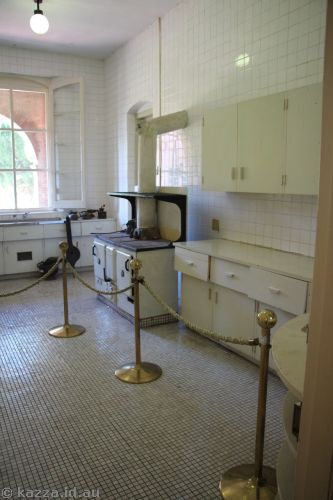 Kitchen in the consulate
