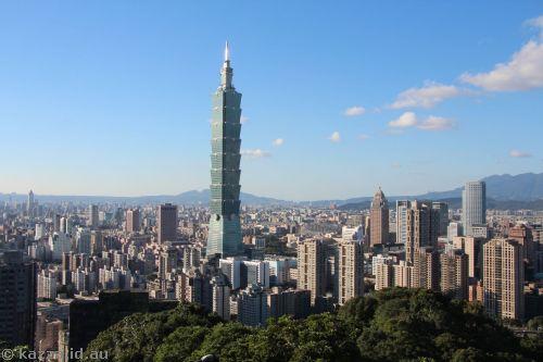 Taipei from Xiangshan