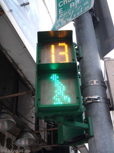 Taipei's stop/go men