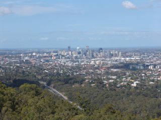Brisbane from Mount Coot-tha
