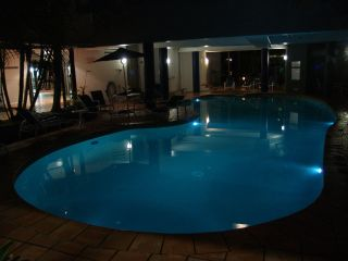 The pool at our hotel